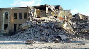 Amatrice, la scuola dopo il sisma