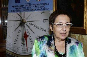 Francesca Cannizzo ex Prefetto