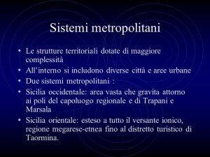 Sicilia. Metropoli rinviate al 2017