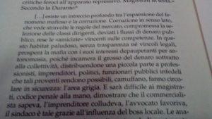 """Stralcio dal libro """"Padrini e padroni"""" di Nicola Gratteri e Antonio Nicasio"""
