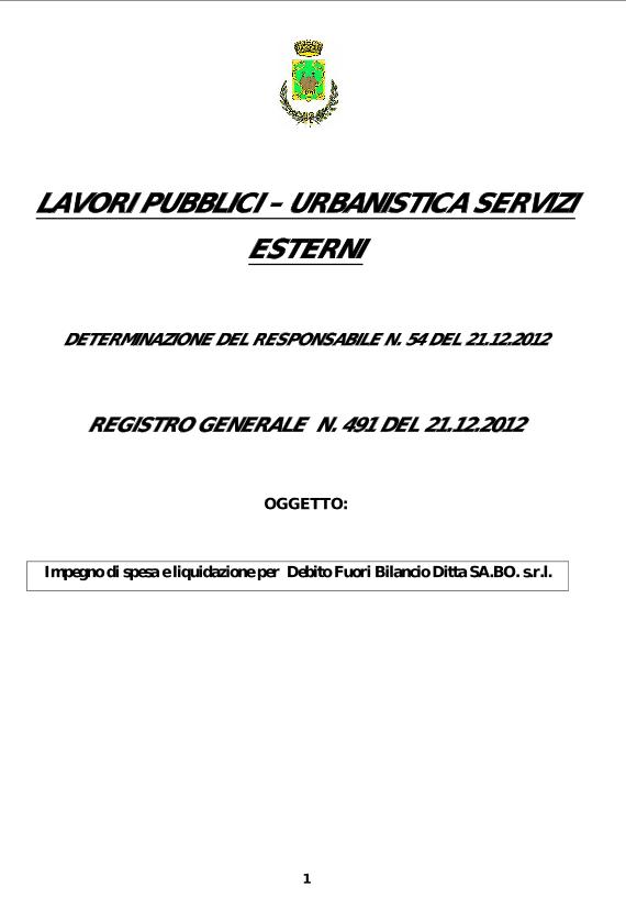 Procedura di esproprio contro il Comune di Ustica con condanna civile e penale